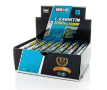 Hardline L-Karnitin Matrix 3000 MG 20 Ampül